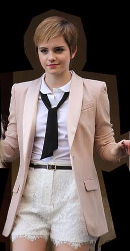 Emma Watson Karl Lagerfeld