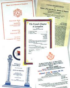 Masonic literature