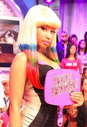 nicki minaj pink friday photoshoot. Nicki Minaj hit up BET#39;s