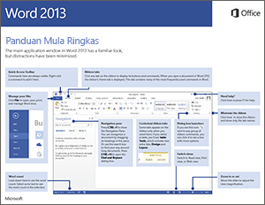 Panduan microsoft word 2013 pdf