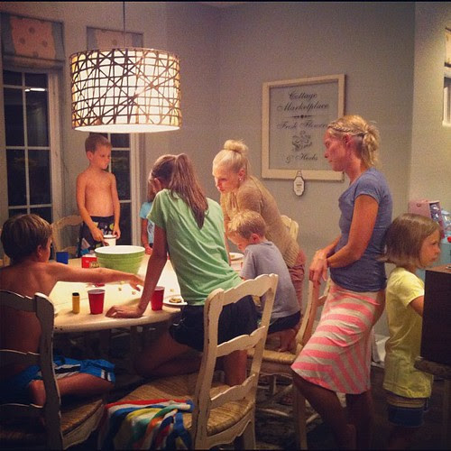 Cousin game night.