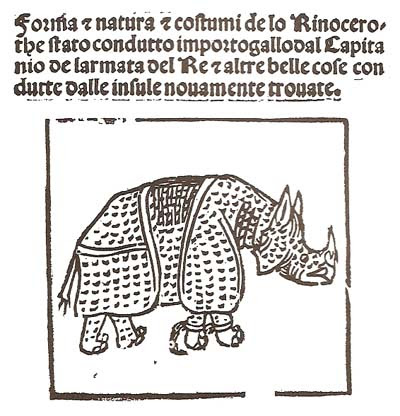Giovanni Giacomo Penni, Forma & Natura & Costumi de lo Rinocerothe, 1515