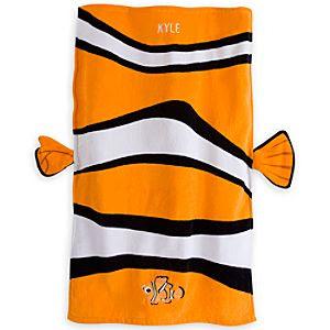 Nemo Swim Towel for Baby - Personalizable