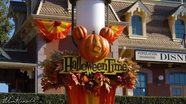 Disneyland Resort, Disneyland, Halloween Time