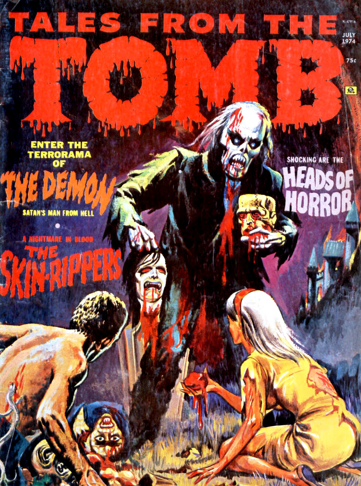 Tales from the Tomb - Vol. 6 #4 (Eerie Publications, 1974)