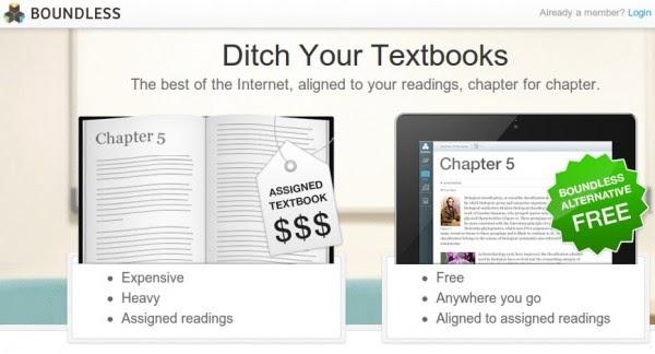 Libros de texto gratuitos, esa es la propuesta de Boundless