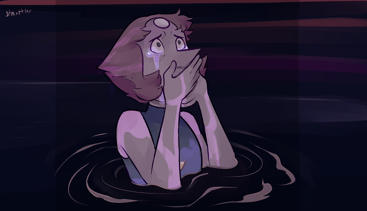 of course I'm going to redraw Pearl crying, I'm only human??? (click for sharper quality!)