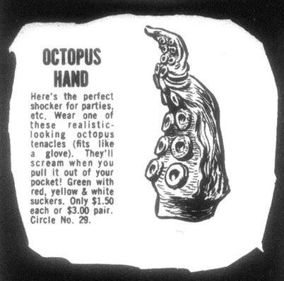 octopus hand