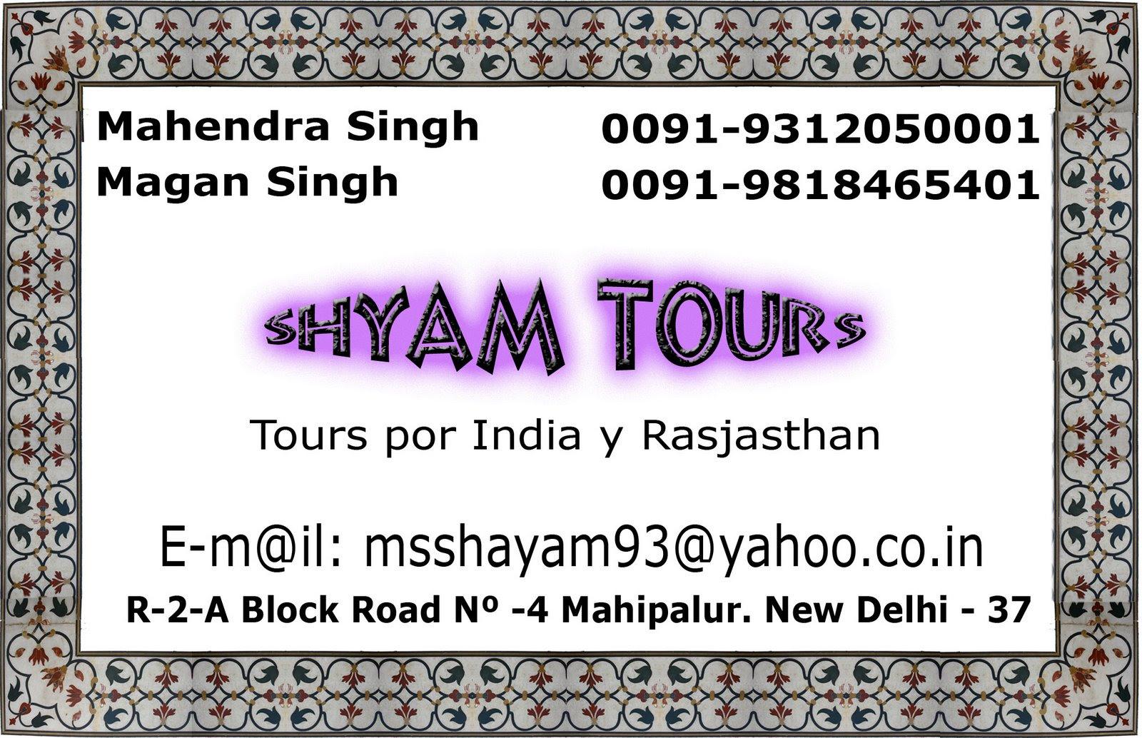 Quieres ir a la india. Mahendra Singh.
