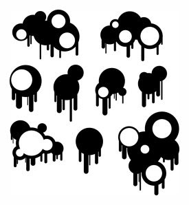 Circles and Drips Brushes
