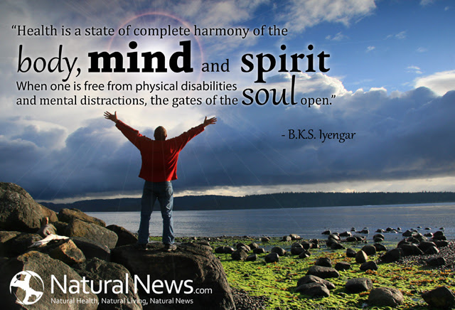 Health Is A State Of Complete Harmony Of The Body Mind And Spirit