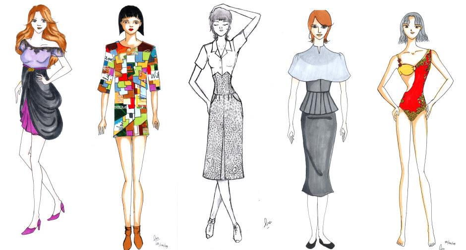 Sketsa dan Cara Menggambar Baju dengan Mudah