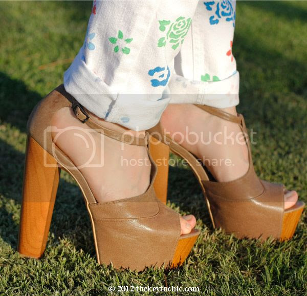 Jessica Simpson Dany heels, platform T-strap block heels, Los Angeles fashion blog, southern California style