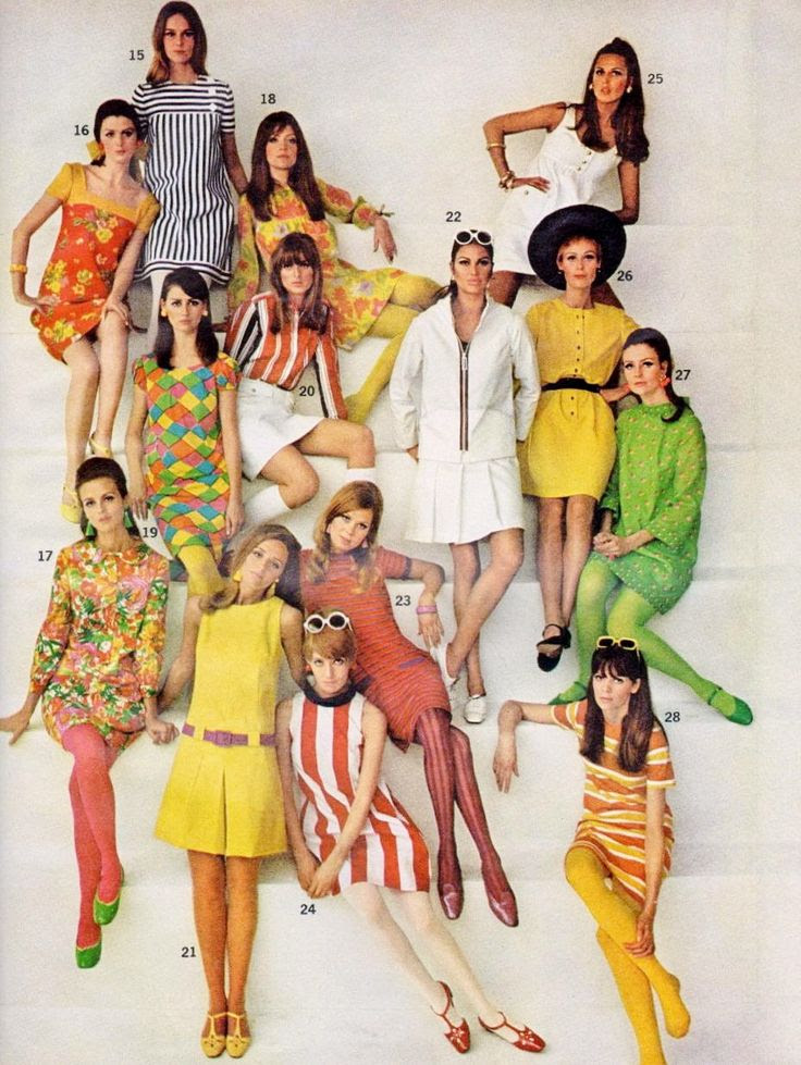 Swinging Sixties Fashion and Beauty