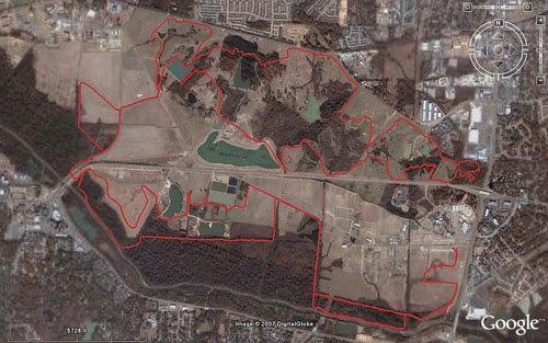 City Slickers - Google Earth