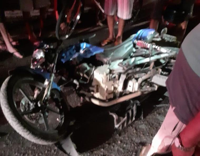 Urgente: Colisão entre motos deixa duas vítimas