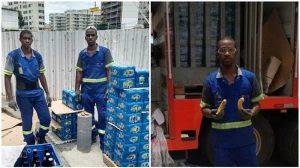 Entregadores receberam bananas pelo Dia da Consciência Negra