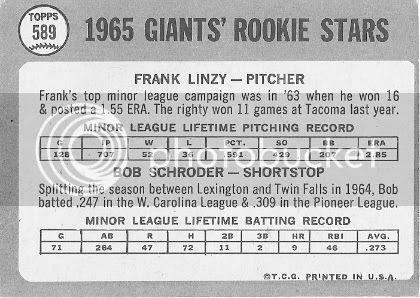 #589 Frank Linzy, Bob Schroder (back)
