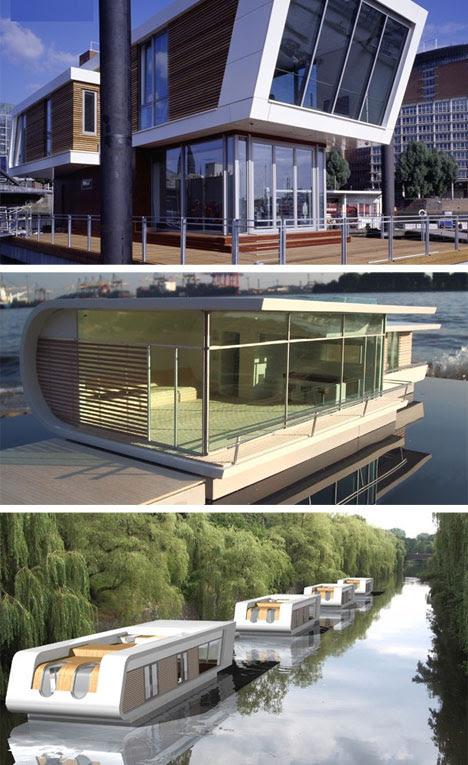 beautiful-german-houseboat- ...