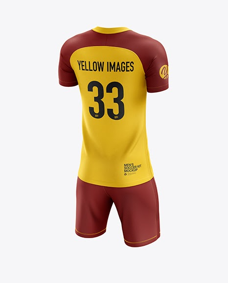 Download Mens Soccer Jersey Mockup Side View - A collection of free ...