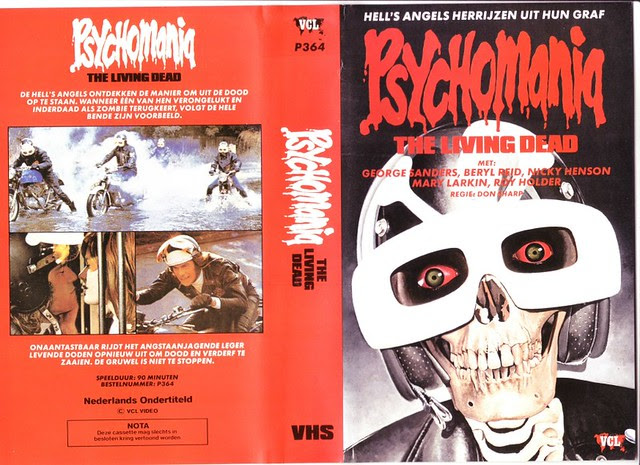Psychomania 1 (VHS Box Art)