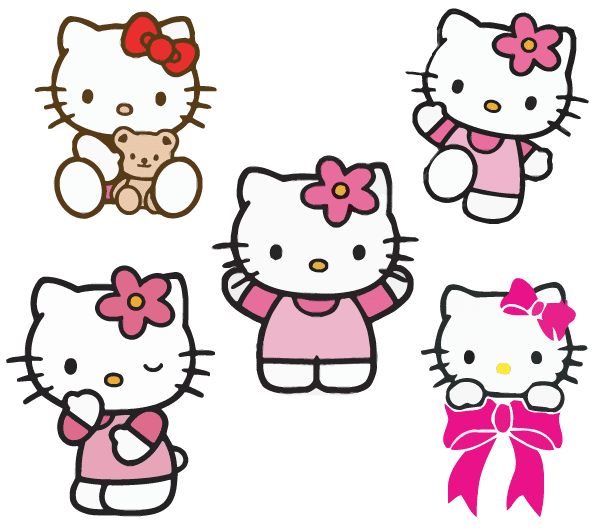 Hello Kitty Vector At Getdrawings Com Free For Personal Use Hello