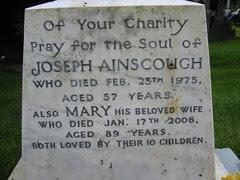 Joseph Ainscough (1918-1975) & Mary Ainscough (1917-2006)