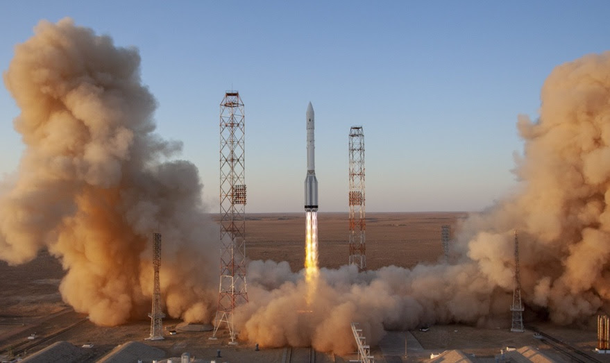 Russia launches Nauka module to International Space Station