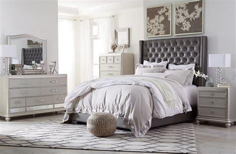 ashley coralayne collection  bedroom set