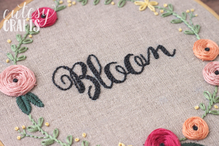 Bloom Hand Embroidery
