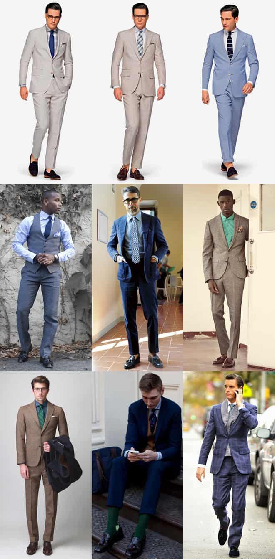 Men's Formal Tassel Loafers Lookbook