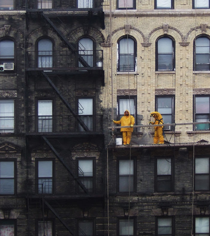 Before And After Power-Washing. New York Used To Be A Much Dirtier City Back When The Northeast Ran On Coal Plants
