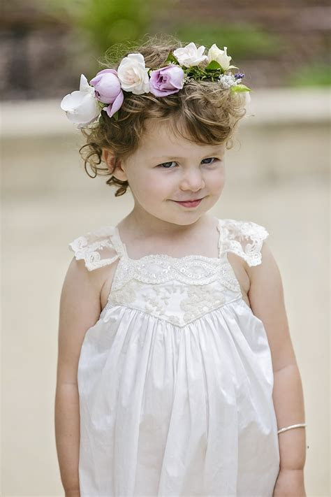 Flower Girls Page boy wedding flowers for Sunshine Coast