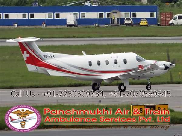 Emergency Air And Train Ambulance Services From Patna