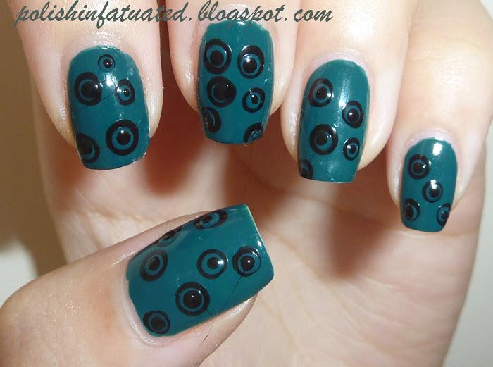 Jungle Fever nail art