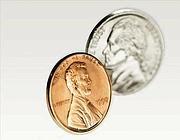 Un penny e un nichelino