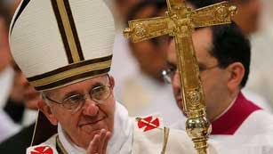 """Ver vídeo  'El papa Francisco pide a los curas que vayan donde hay """"sufrimiento""""'"""