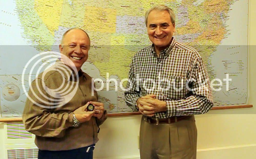 Mario Cugini (left) and John Bianchi (right)