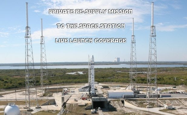 SpaceX Resupply Launch