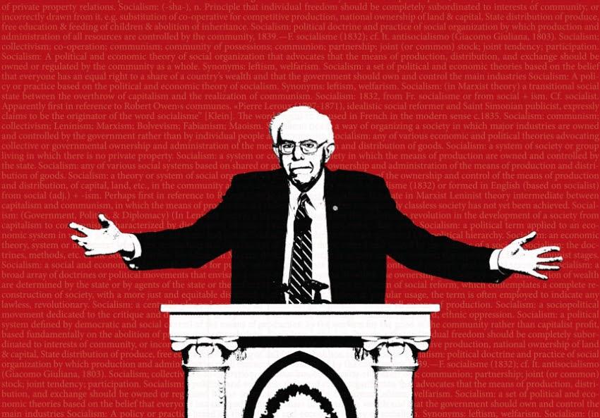 Image result for Bernie Sanders and American Socialism