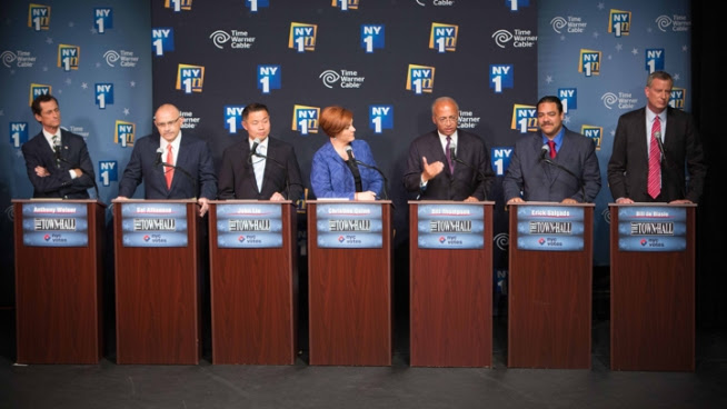 Rivals Sharpen Attacks on de Blasio in 2nd Debate
