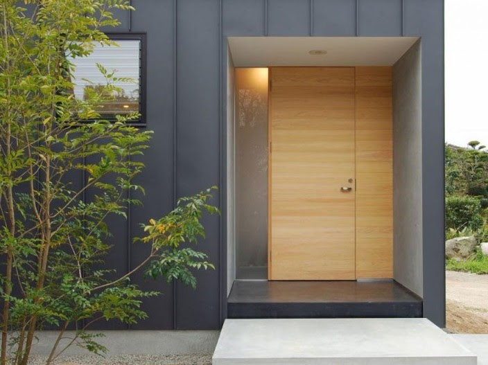 Model Pintu Rumah Minimalis Modern 2019 - Aristek Sederhana