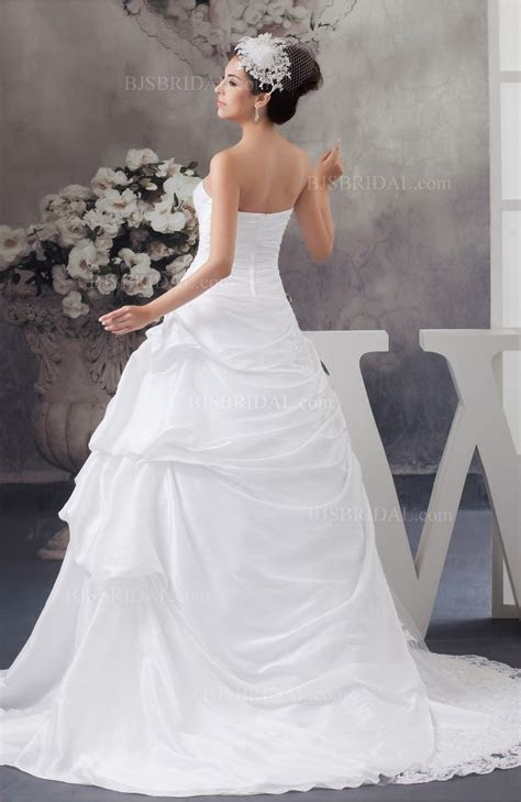 Allure Wedding Dress Sexy Ball Gown Unique Low Back
