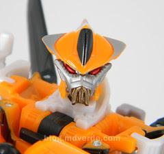 Transformers Terradive Hunt for the Decepticons Deluxe - modo robot