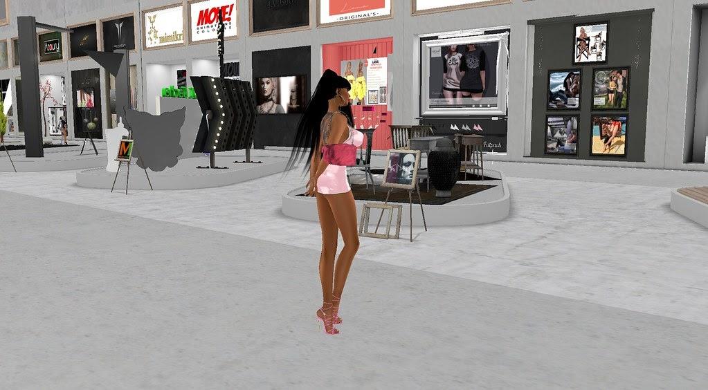 Tsai Cheng - Second Life Escort: Shopping at the ...