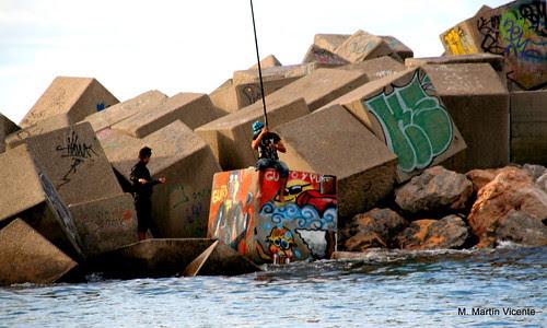 Cubos con graffitis