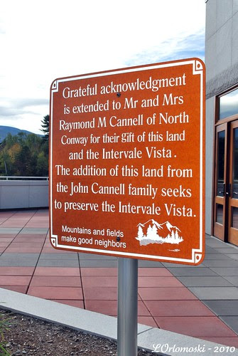 Sign at Intervale Vista