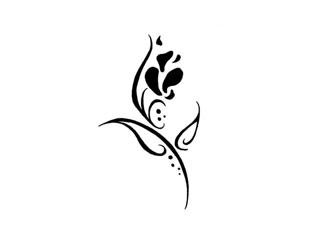 Simple Flower Tattoo Designs Flowers Healthy