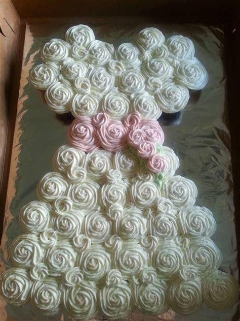 25  best ideas about Wedding dress cupcakes on Pinterest