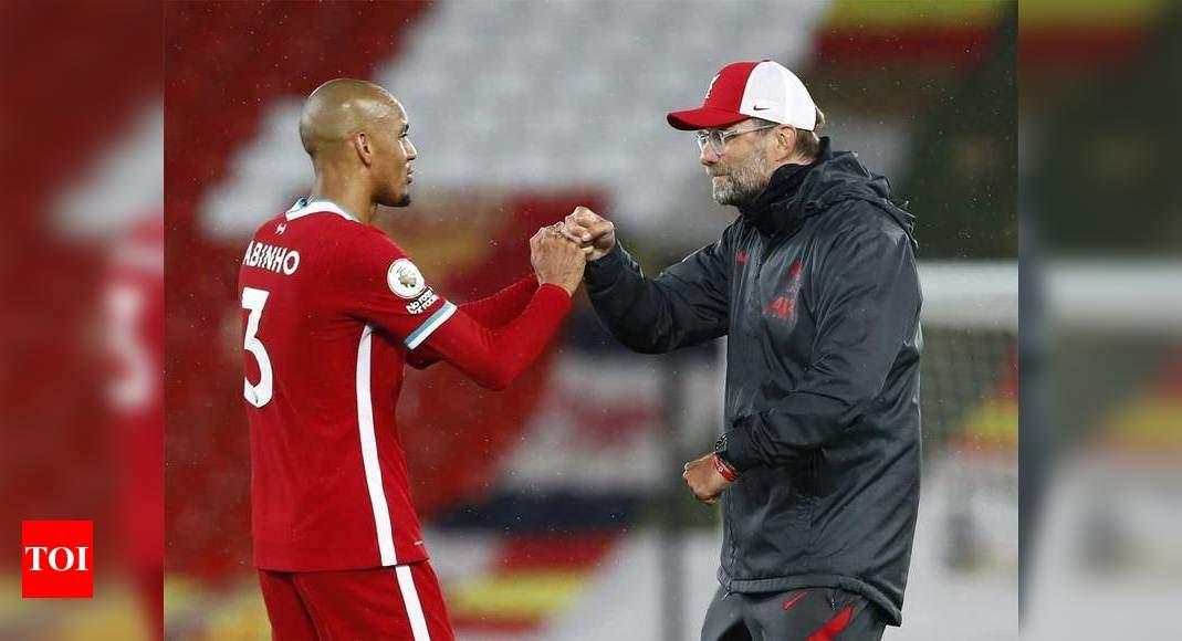 Fabinho Goal Vs Man City - Liverpool's Salah continues ...
